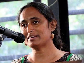 Kavita Krishnan Indian communist feminist