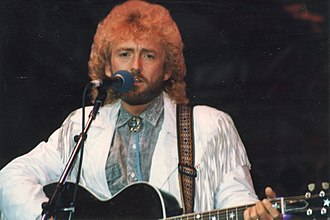 Keith Whitley - Keith Whitley performing at the Country Music Fan Fair in June 1988 in Nashville, Tennessee at the Tennessee State Fairgrounds.