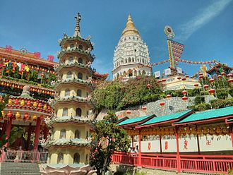 Air Itam - Kek Lok Si Temple is said to be the largest Buddhist temple in Malaysia and among the more famous ones in the country.