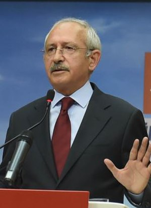 18th Republican People's Party Extraordinary Convention - Image: Kemal Kılıçdaroğlu statement after November 2015 general election (cropped)