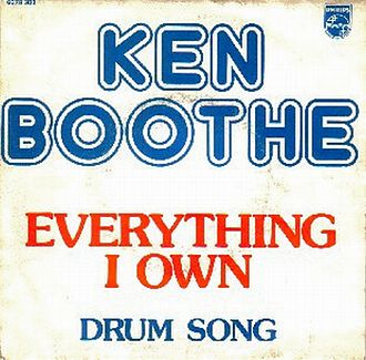 Everything I Own - Image: Ken Boothe Everything I Own