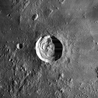 Kepler (lunar crater) lunar impact crater