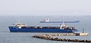 Kerch Strait ferry line - Image: Kerch Annenkov Krym
