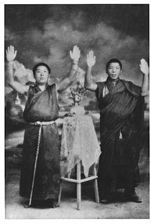 Gangshar Wangpo Tibetan Lama