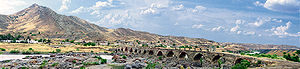 Khodaafarin Bridges - View of the second Khodaafarin bridge.