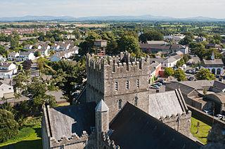 Kildare Town in Leinster, Ireland