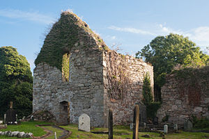 Calvagh O'Donnell - Killydonnell Friary at the western shore of Lough Swilly where Calvagh and his wife were captured in 1561 by Shane O'Neill