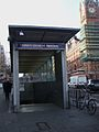 King's Cross St Pancras tube stn Euston Road southeast entrance.JPG
