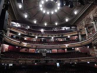 King's Theatre, Glasgow - View from the Stage