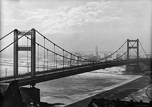 Branko's Bridge - King Aleksandar Bridge, 1934-41 predecessor of Branko's Bridge