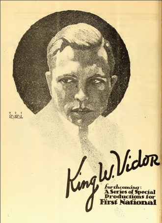 King Vidor - 1919 magazine ad