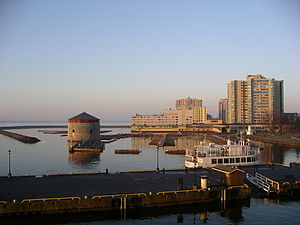 Kingston, Ontario - Overlooking Kingston waterfront