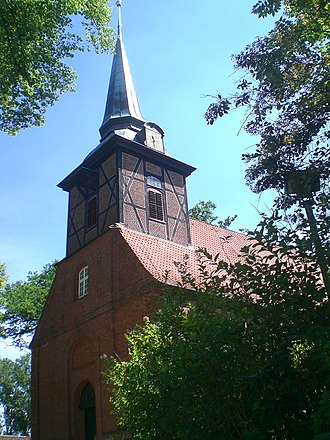 Bergstedt - The church of Bergstedt in 2011