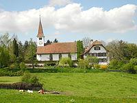 Kirche und Pfarrhaus Frauenkappeln.JPG