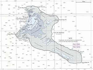 Kiritimati - 1977 nautical chart