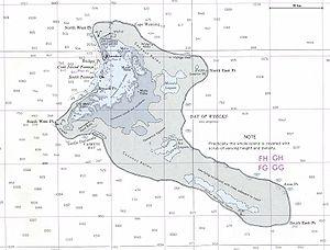 Karte von Kiritimati