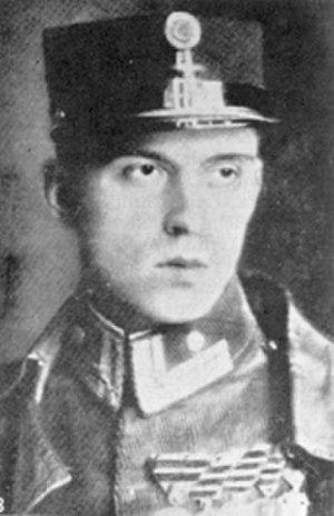 József Kiss - Image: Kiss József pilóta