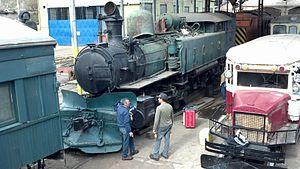 0-8-6-0T - Kitson-Meyer 3348, under restoration in 2013