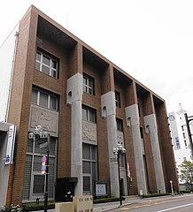 紀陽銀行の本店