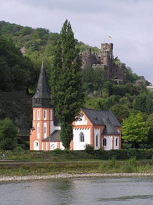 Trechtingshausen - Saint Clement's Chapel and Reichenstein Castle