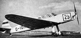 Klemm Kl 36 photo L'Aerophile October 1934.jpg