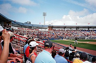 Dunedin, Florida - Florida Auto Exchange Stadium is home to the Toronto Blue Jays during Spring Training.