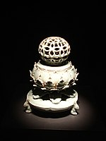 Celadon incense burner.