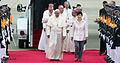 Korea Pope Francis Arrive Seoul Airport 03.jpg