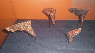 Kōrere traditional Māori feeding funnel