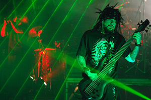 Reginald Arvizu - Fieldy in Italy 2008.