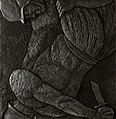Korzhev Ivan. A series of reliefs War 2. Коржев И. Серия рельефов Война 2, 2011.jpg