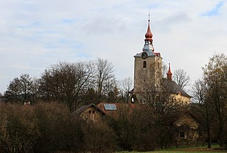 Dolní Čermná - St. George church