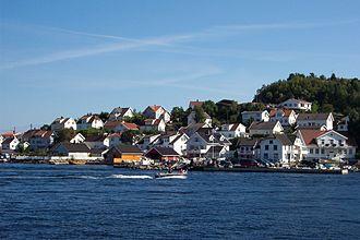 Kragerø - Øya in Kragerø seen from the town. (Photo:Ståle Kristoffersen)