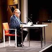 Georg Kreisler bei einer Lesung in der Akademie der Künste (Berlin)
