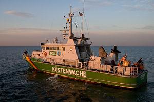 German customs ship