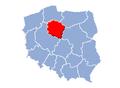 Kujawsko pomorskie location map.PNG