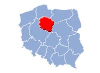 Kujavien-Pommerns vojvodskaps beliggenhed i Polen.