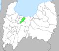 Kureha-Town.Toyama.map.png
