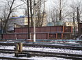 Kushelevka station - new bridge structure.jpg