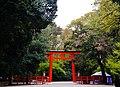 Kyoto Shimogamo-jinja Torii 3.jpg