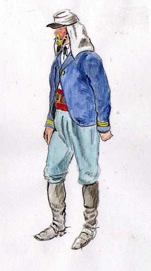 Belgian Legion - Sous-lieutenant in Mexico, 1865-7