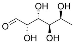 L-Fucose chemical structure.png