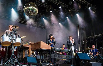 LCD Soundsystem - LCD Soundsystem performing live in 2016