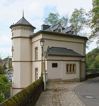 Robert Schuman - Robert Schuman's birthplace in Clausen, a suburb of Luxembourg City