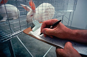Animal welfare - The use of animals in laboratories remains controversial. Animal welfare advocates push for enforced standards to ensure the health and safety of those animals used for tests.