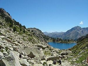Lac de Madamète - Image: Lac de Madamette
