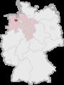 Lage des Landkreises Ammerland in Deutschland.png