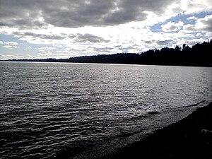 Calafquén Lake - Image: Lago Calafquén 4