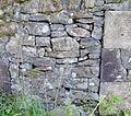Laigh Borland 1916 walled garden blocked doorway, Dunlop, Ayrshire.jpg