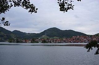 Divič Village in Republika Srpska, Bosnia